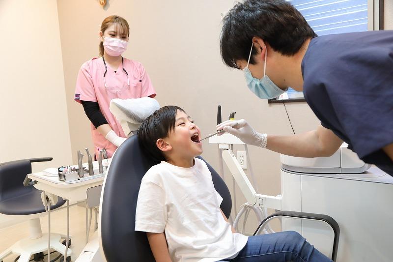 当院で行う小児歯科メニュー