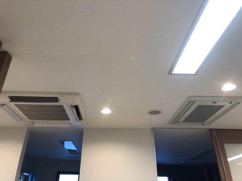 最新技術を搭載した「天井埋め込み式大型空気清浄システム」の設置・導入